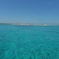 Costa de Espalmador en Formentera