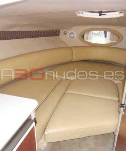 Interior camarote Monterey 268 Sport Cabin