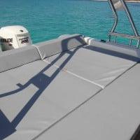 Solárium de popa del barco