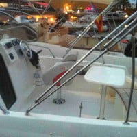 Toldo bimini del barco de alquiler en A30nudos.com