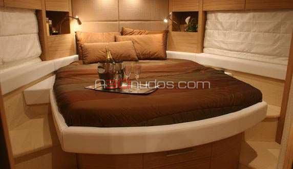 Camarote principal del barco de A30nudos.com