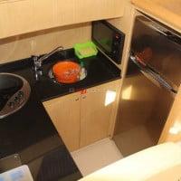 Cocina del barco de alquiler en A30nudos.co