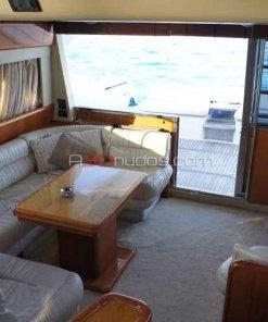Cubiertas interiores del barco de alquiler en A30nudos.com