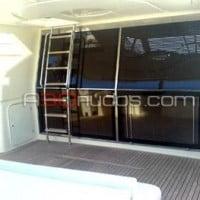Cubierta del barco de alquiler de A30nudos.com