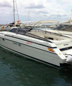 Vista de la popa del barco de alquiler de A30nudos.com