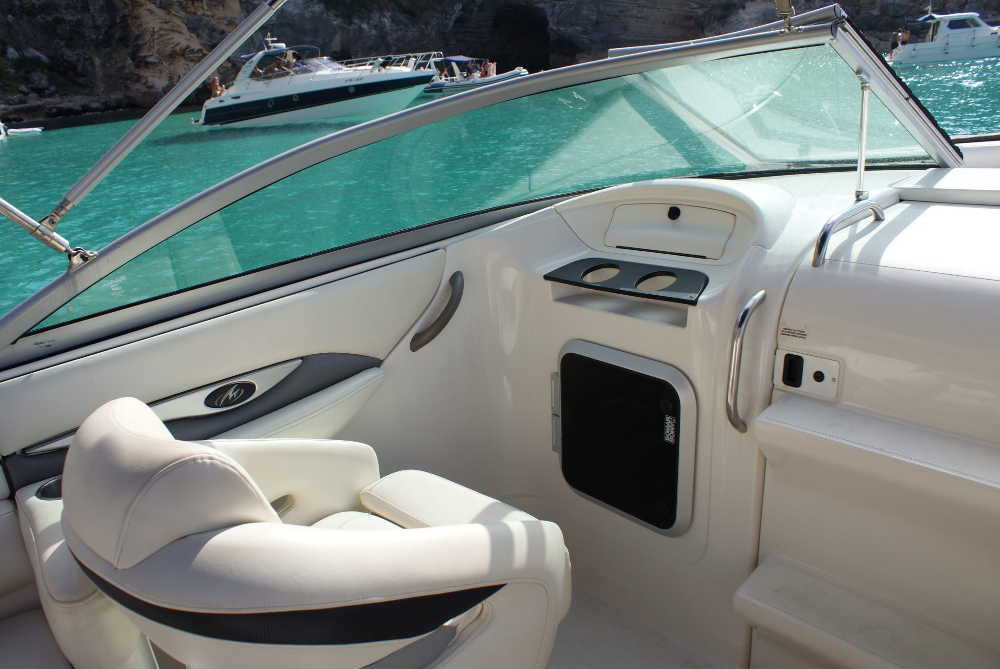 Asiento del acompañante barco Ibiza