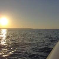 Puesta de sol desde la Monterey 268 SC