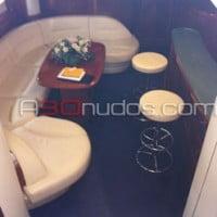 Interior del yate de alquiler en A30nudos.com