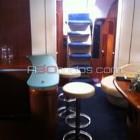 Interior de la lujosa embarcación