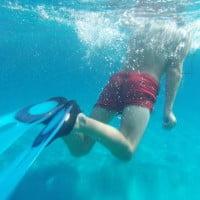 Aguas cristalinas en las costas de Ibiza y Formentera
