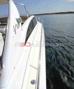 Vista a bordo del barco de alquiler de A30nudos.com