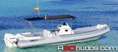 alquiler barcos sacs en Ibiza