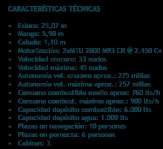 Alquiler de Mangusta 80 en Ibiza