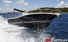 alquiler barcos white shark en Ibiza