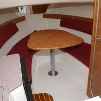White Shark interior