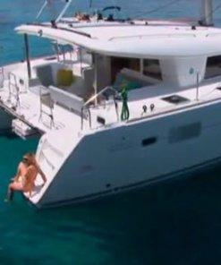 Catamarán Lagoon 400 en Ibiza