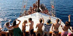 Eventos en barco en Ibiza