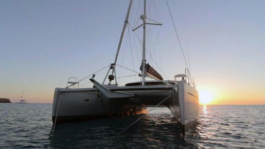 Catamarán Belice 43 en Ibiza