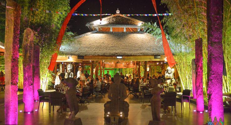 Restaurante ibicenco Bambuddha