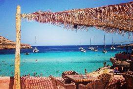 Ibiza chiringuito playa