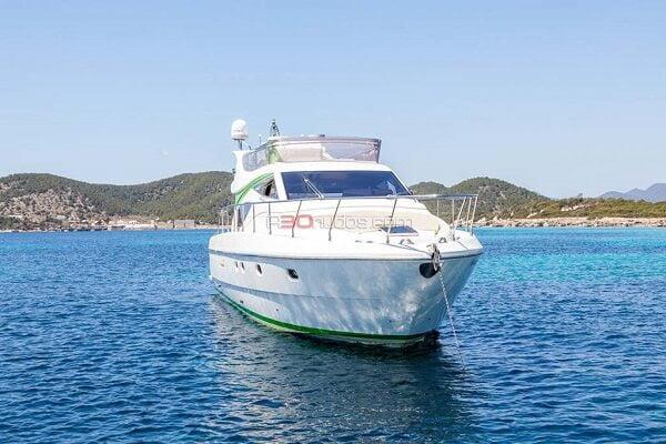 Yates para alquilar en Ibiza