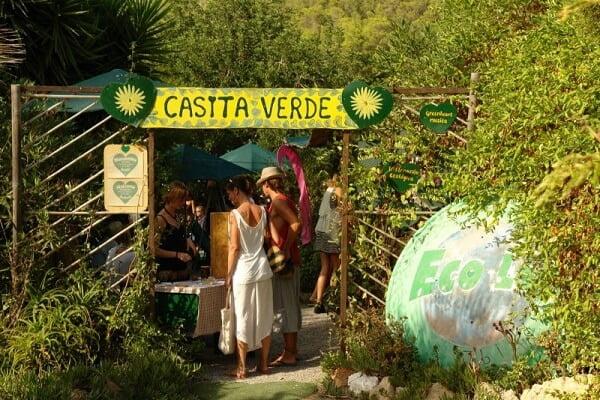 La Casita Verde, en Ibiza