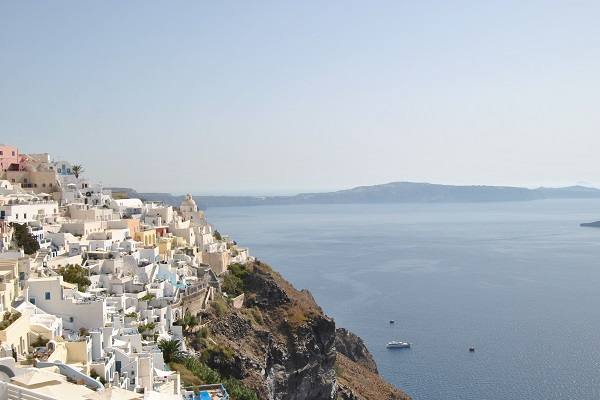 Vista países mar Mediterráneo