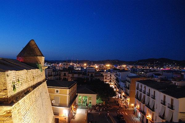 Monumento de Dalt Vila en Ibiza
