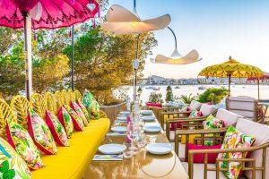 Restaurantes de lujo en ibiza