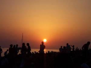Sunset san antonio ibiza